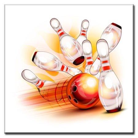 "BowlingShopEurope Tegeltje ""Action"""