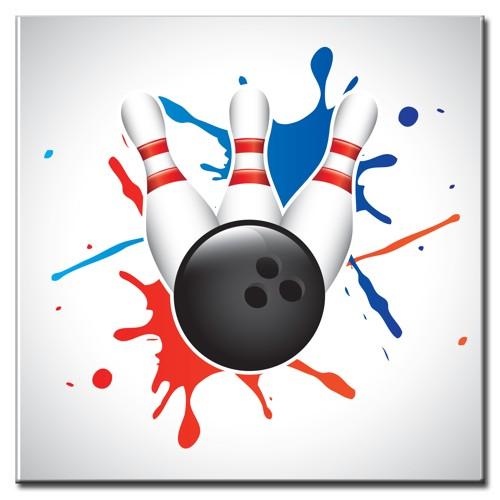 """BowlingShopEurope Bedrukte tegeltjes """"Paint"""""""