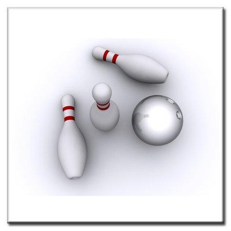 """BowlingShopEurope Tegeltje """"Pins"""""""