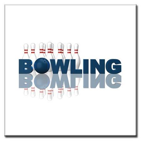 """BowlingShopEurope Bedrukte tegeltjes """"Bowling"""""""