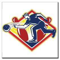 "Tile ""The Bowler"""