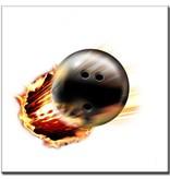 """BowlingShopEurope Bedrukte tegeltjes """"Cannon Ball"""""""