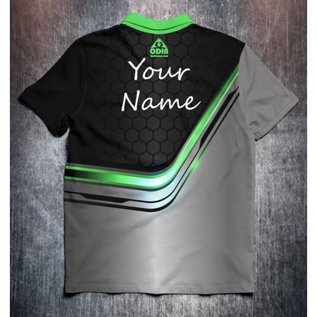 Odin Sportswear Metallic green line