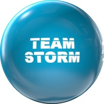 Clear Team Storm Electric Blue