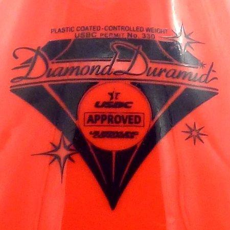 Diamond Duramid Pin Rood