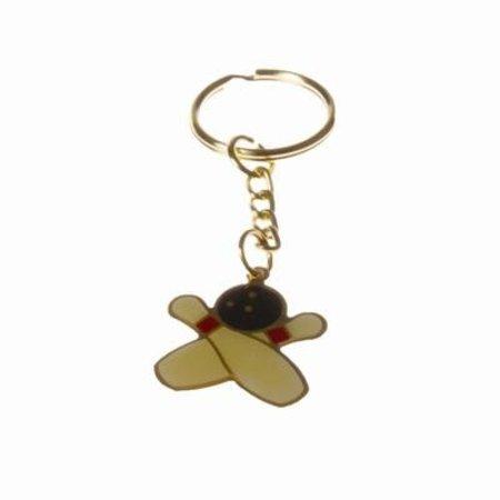 Cross Pin/Ball Key Ring