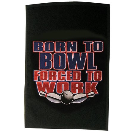 Master Born to Bowl Towel