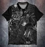 Odin Sportswear Black white floral