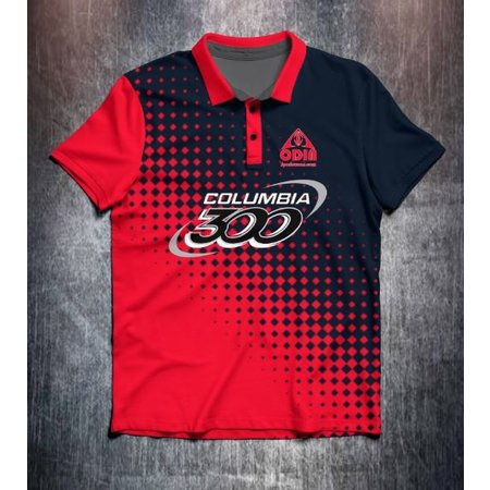 Columbia 300 Halftone Red