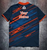 Odin Sportswear Lines Blue Orange