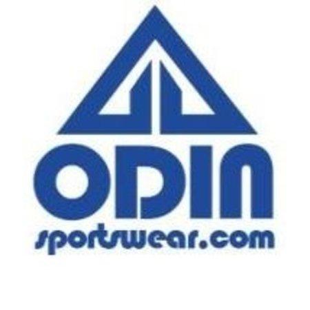 Odin Sportswear Black Red Grunge