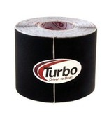 """Turbo Patch Tape 2"""" Smooth Black Roll"""