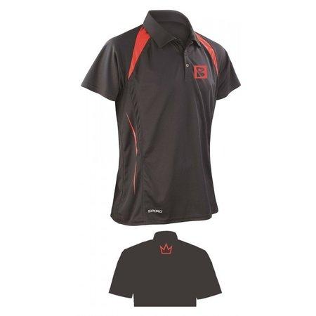 Brunswick Polo Black/Red
