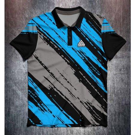 Odin Sportswear Paint strokes Blue