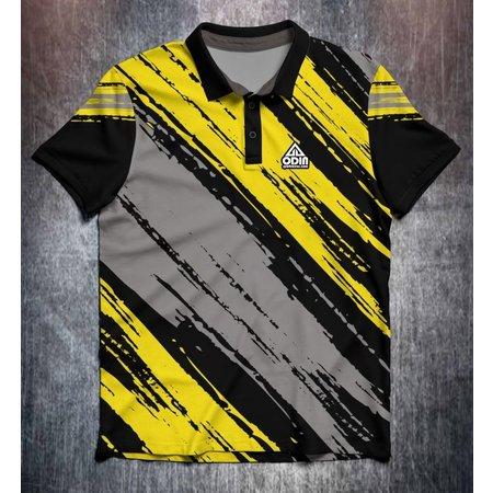Odin Sportswear Paint strokes Yellow