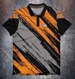 Odin Sportswear Paint strokes Orange