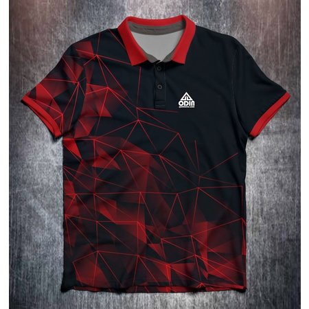 Odin Sportswear Red Technical Mesh