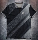 Odin Sportswear Black White Abstract Geometric