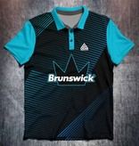 Brunswick  black Blue lines