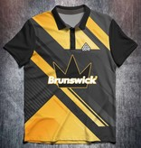Brunswick Black Yellow Abstract