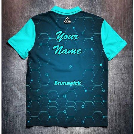 Brunswick Blue hexagon