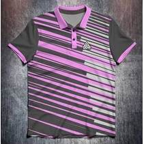 Stripes Black/Grey/Pink