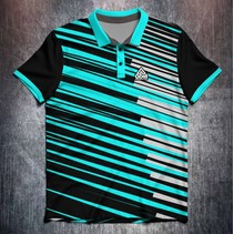 Stripes Black/Grey/Aqua