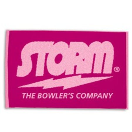 Storm Pink Woven Towel