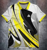 Odin Sportswear Abstract bright paint Yellow