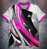Odin Sportswear Abstract bright paint Pink