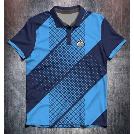 Odin Sportswear Retro Pattern Blue