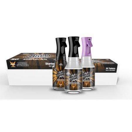 Kegel Micro Striker Starter Kit (2 Flaschen / 50 Tabletten)