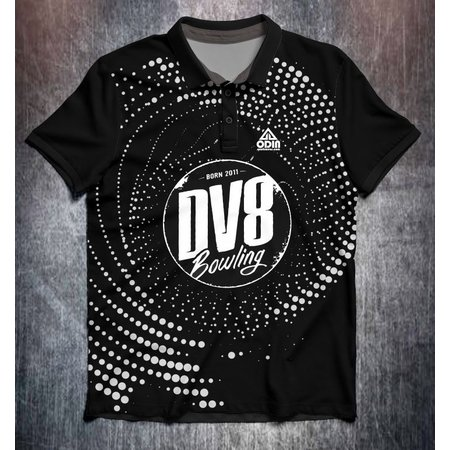 DV8 Black White dots