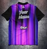Radical Purple Blue lines
