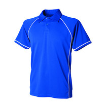 Men's Piped Performance Polo