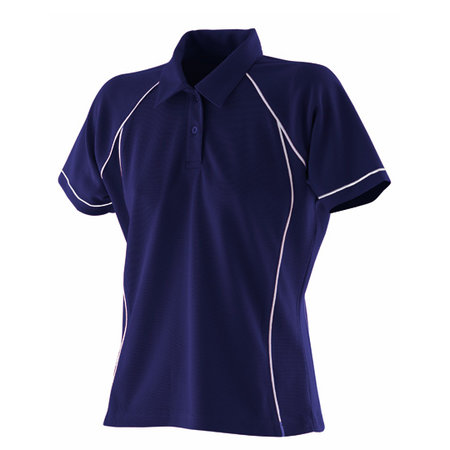 Finden Hales Ladies Piped Performance Polo