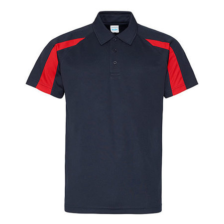 Just Cool Contrast Cool Polo