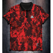 JT Pixel camo red