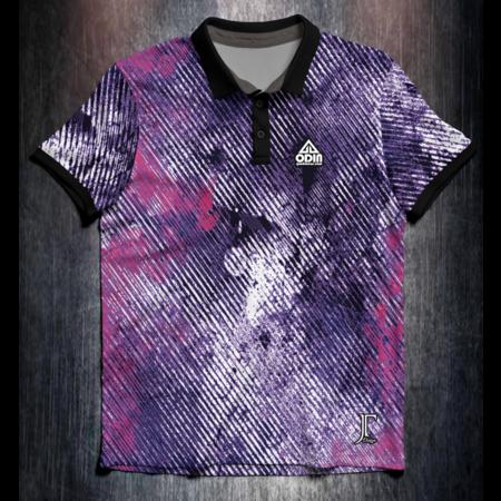 Odin Sportswear JT Grunge purple