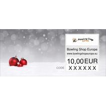 Cadeaubon keuze tussen 10-100 euro