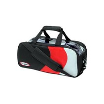 Pro Double Tote Black/Red/Silver