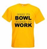T-Shirt Born to Bowl