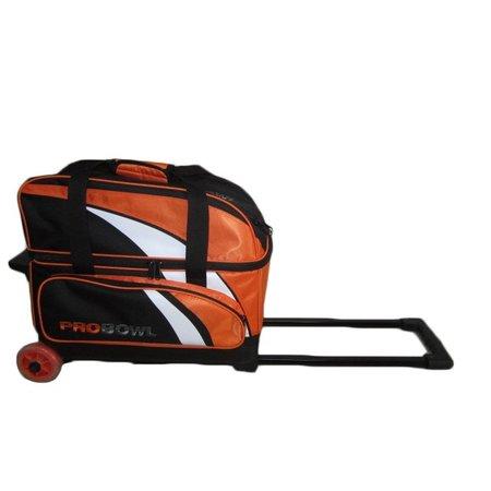 Pro Bowl TRS Double Roller Oranje