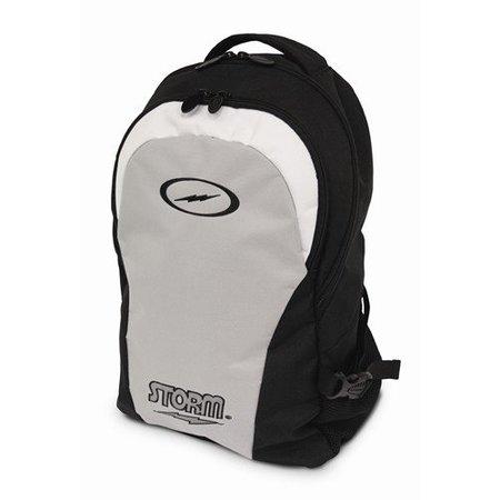 Storm Backpack Zwart/Zilver