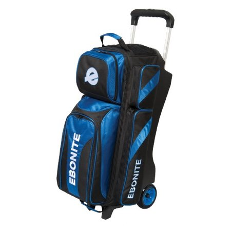 Ebonite Equinox Triple Roller Zwart/Blauw