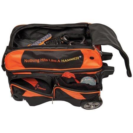 Hammer 2 Ball Roller Zwart/Oranje