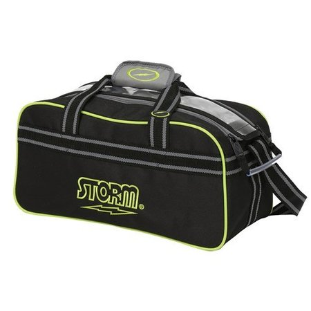 Storm 2 Ball Tote Black/Grey/Lime