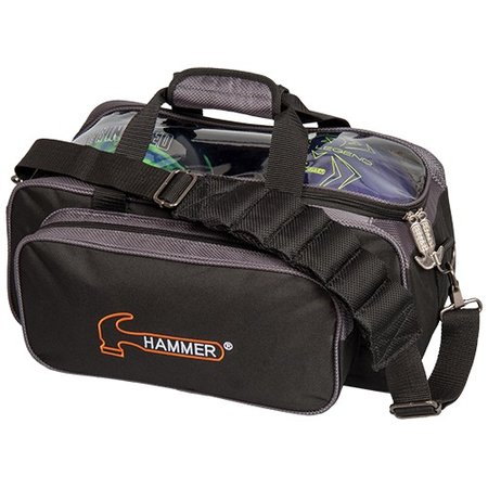 Hammer Double Tote Black/Carbon