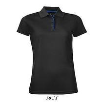 Damen Sports Polo Shirt Performer