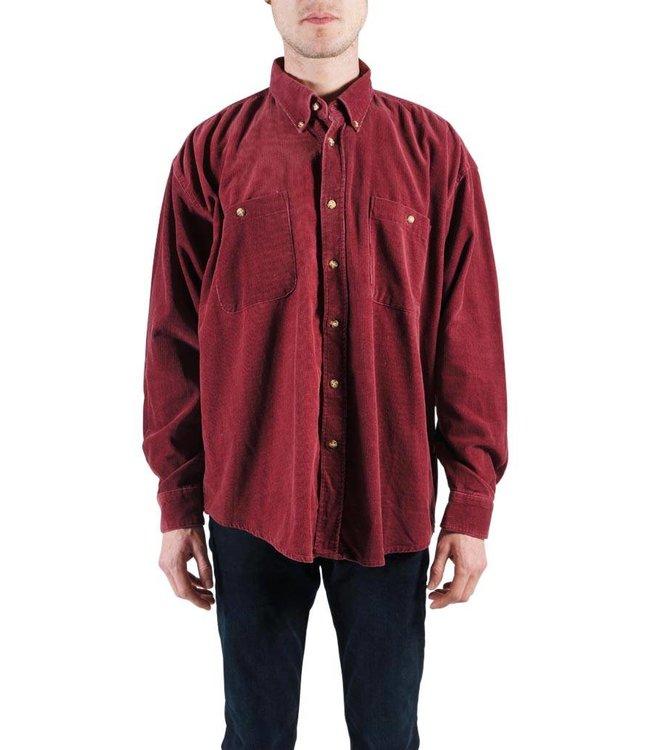 Chemises Vintage: Chemises Corduroy